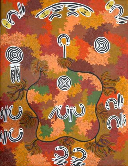 Painting by Rex Granites Jabanunga